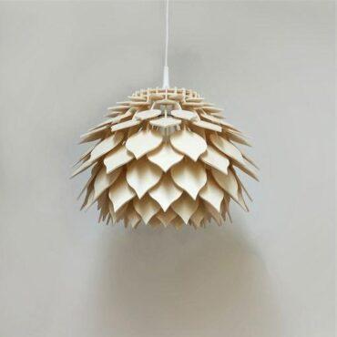 Moderna stropna viseča luč Leaves. Ročno delo. Svetila Rolmas