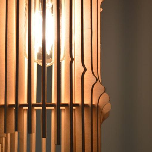 Viseča stropna luč WAVE. Svetilo