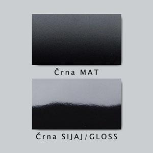 Primer mat in sijaj stenske nalepke