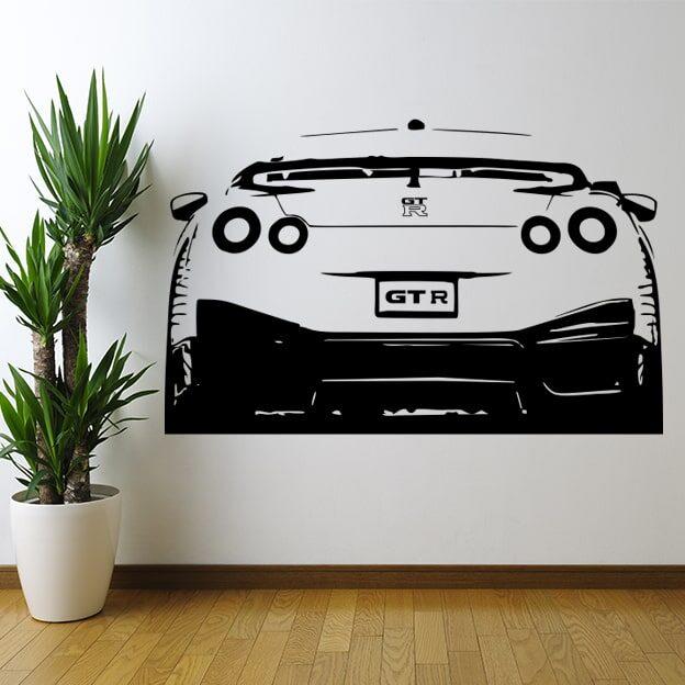 Stenska nalepka Nissan GTR